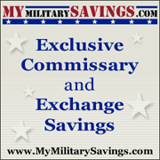 MyMilitarySavings.com, Exclusive Commissary and Exchange Savings