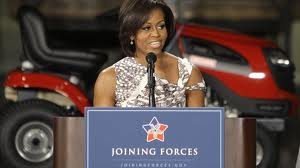 Michelle Obama Speaking for Joining Forces