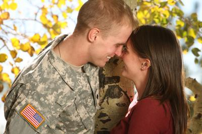 USAA Deployment Couple