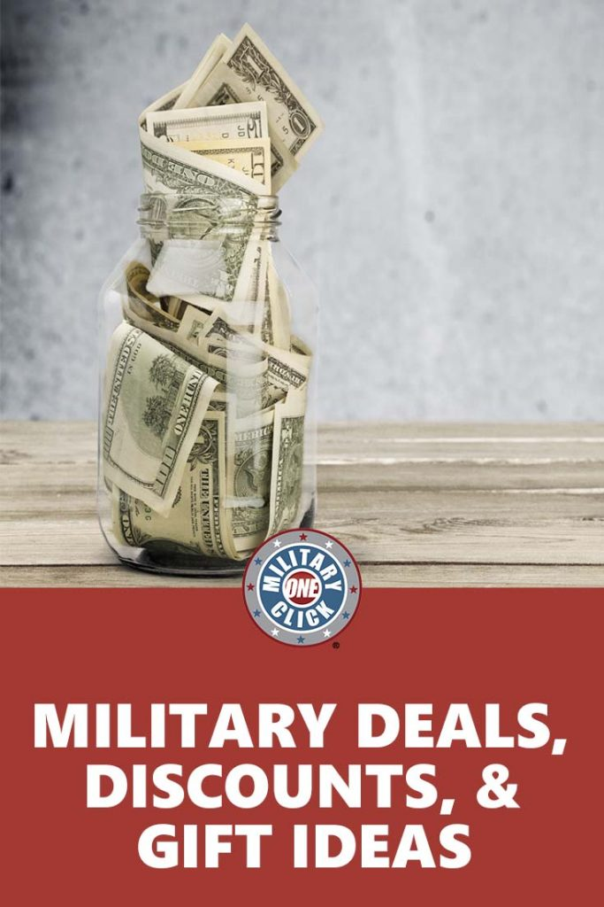 A huge list of military discounts, deals, and gift ideas that continues to be added to!