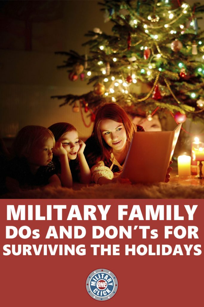 How to survive the holidays as a military family with challenges and obstacles.