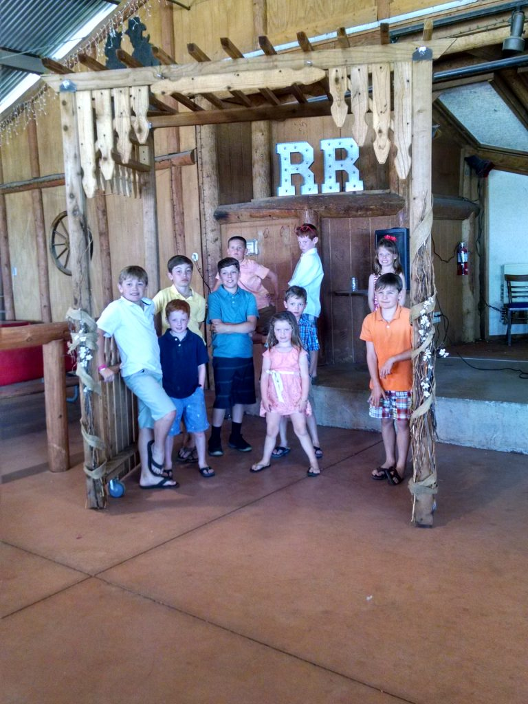 The Kids at Rustler's Rooste