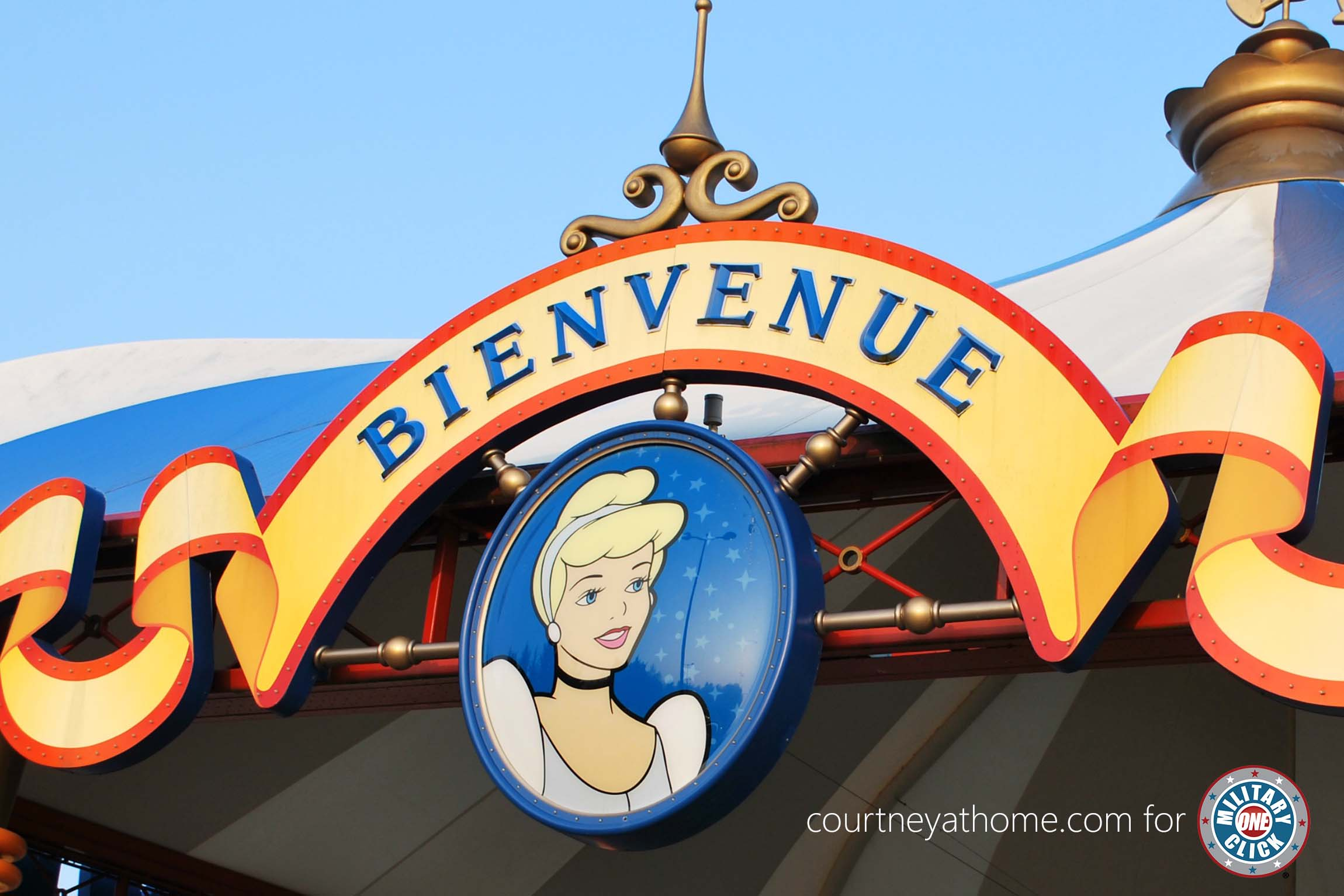 Tips for military families vacationing at Disneyland Paris! Save for later!
