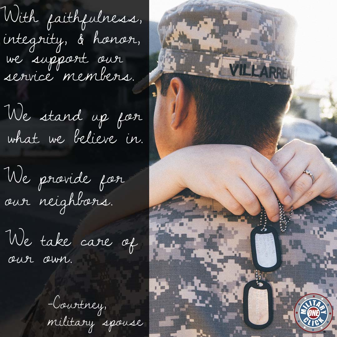 A creed for military spouses
