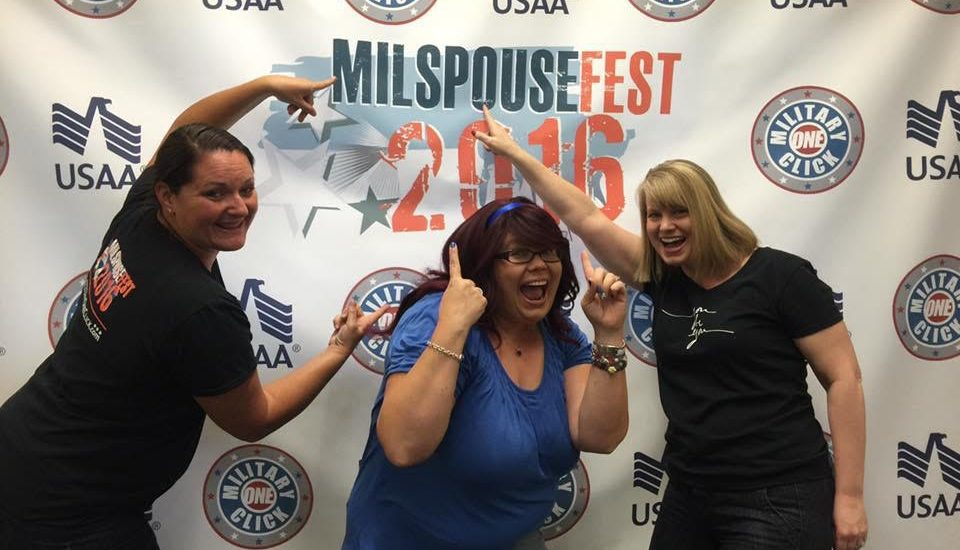 Wonder what attending #MilspouseFest2016 is like?
