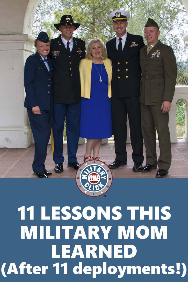 Deployment lessons from a mom who has experienced 11 of them! Saving this advice for later!