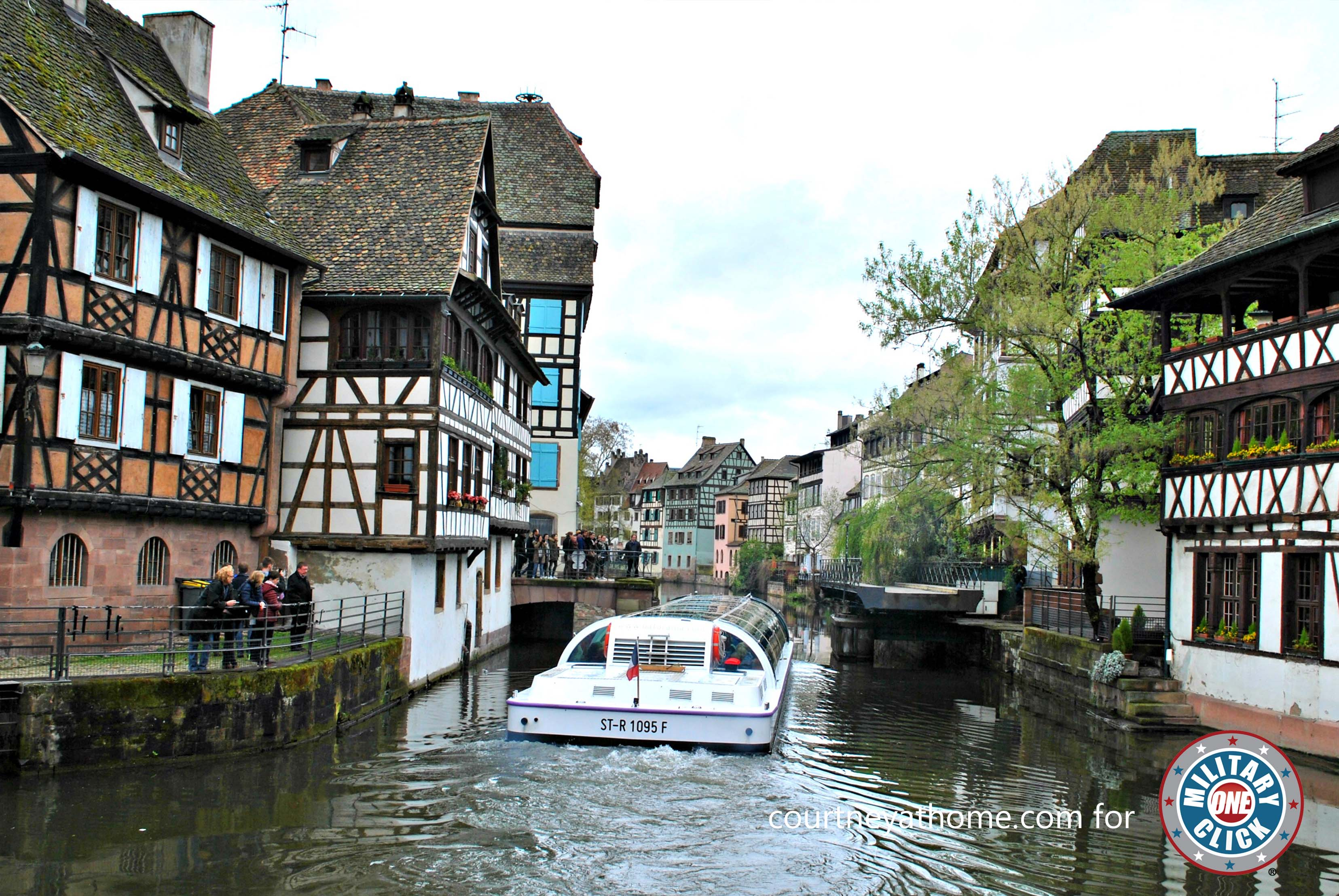Travel tips for visiting Strasbourg, France from a military family stationed in Germany.