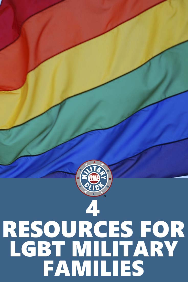 Great resources for LGBT #military families!