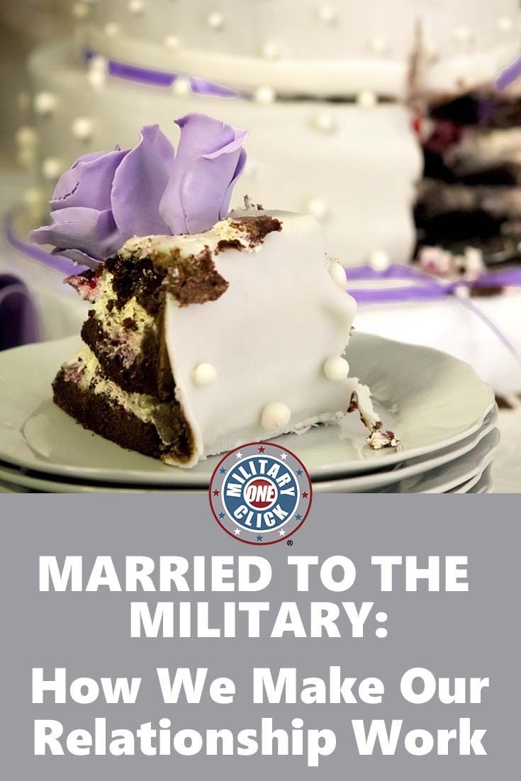 """Married to the Military""-- is it a real thing?"