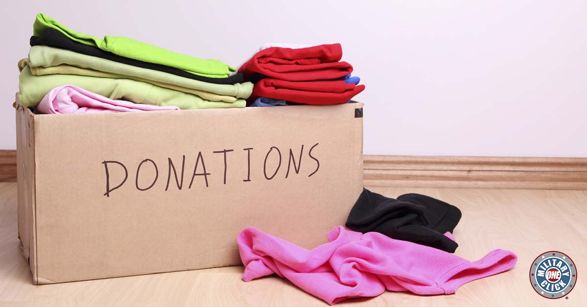 It might be easy to become complacent with the idea that military families should only be the recipients for charity, but let's not forget the importance of giving back either.