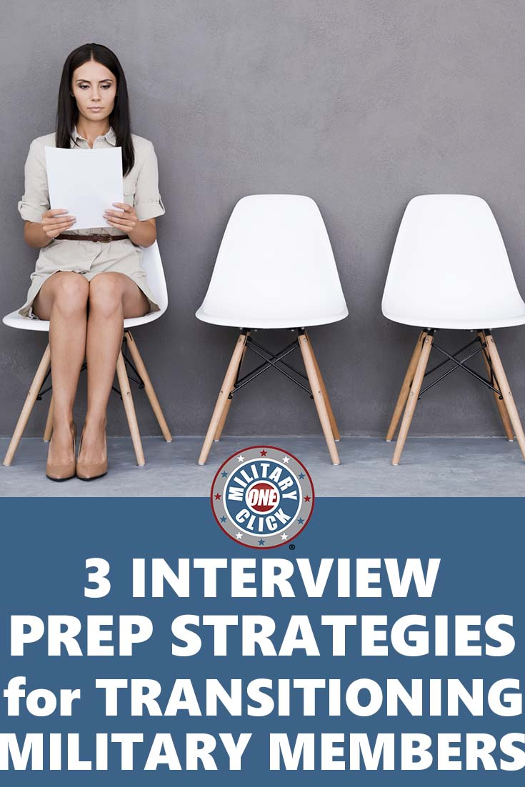 Easy interview prep strategies perfect for veterans and military getting out.