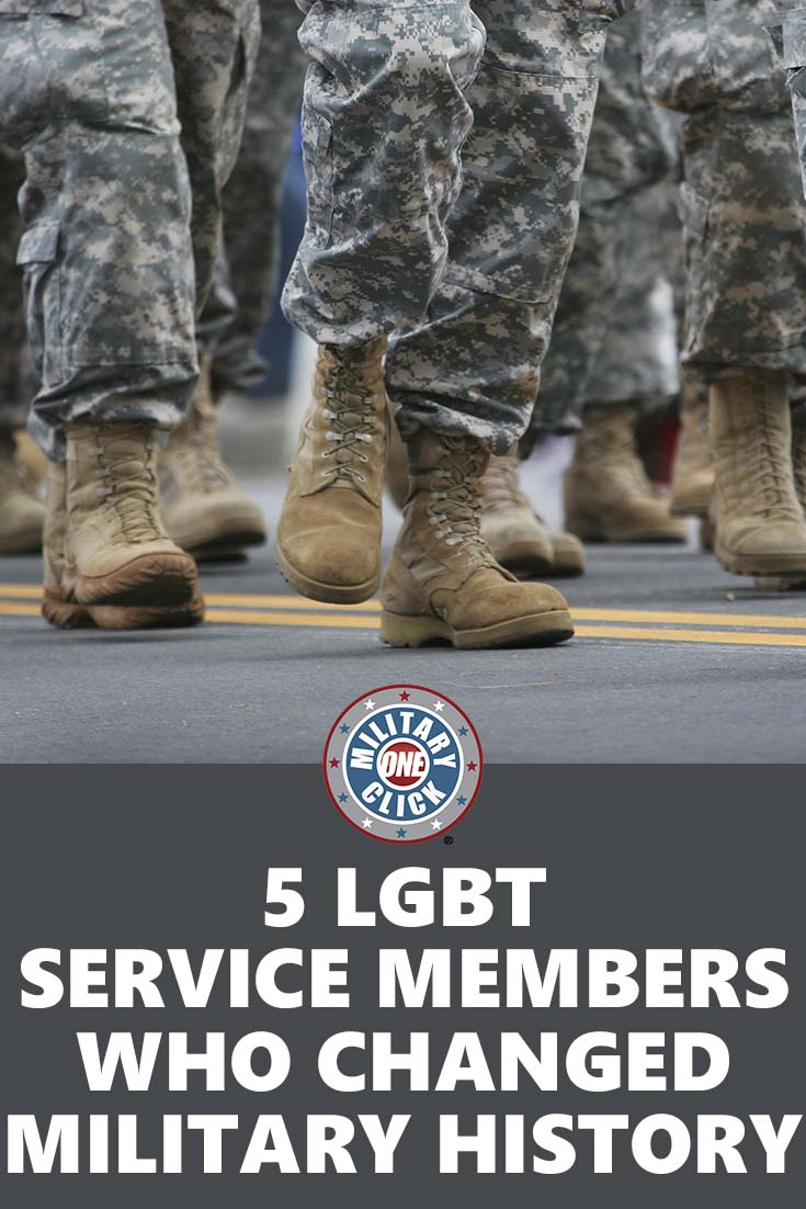 LGBT military history