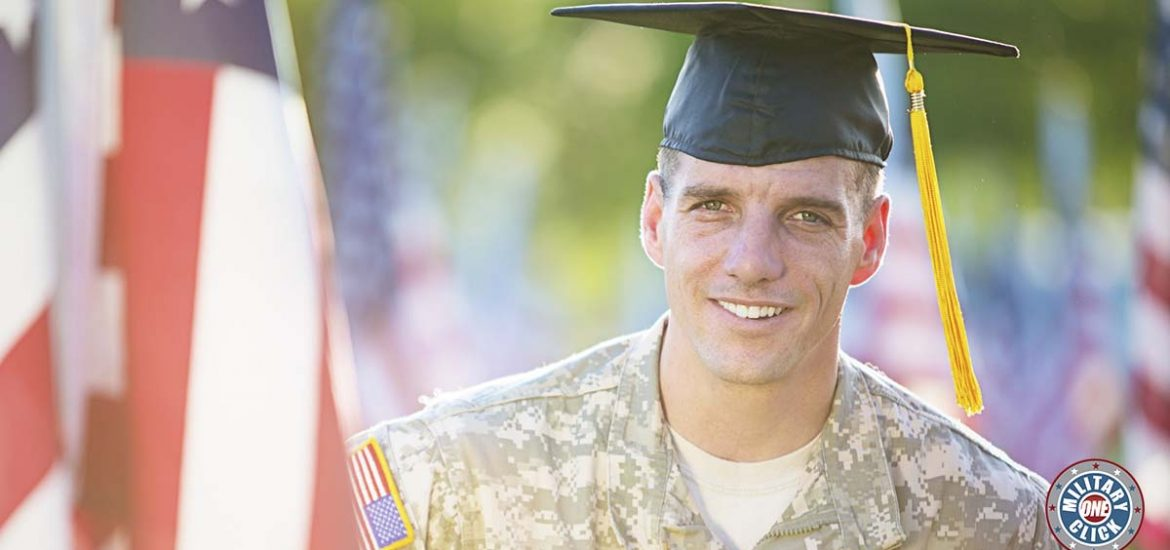 Real schools that offer real scholarships for veterans, service members, spouses, and military kids. college, university