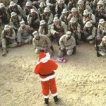 Get in the spirit with these 8 moto military Christmas cards