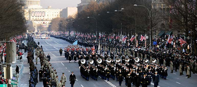 These military family groups will march in Inaugural Parade