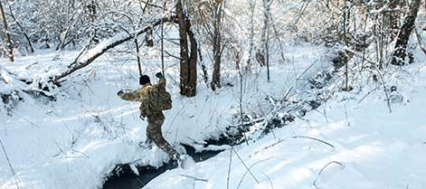 Think you're cold? Check out these 9 photos of troops in the snow
