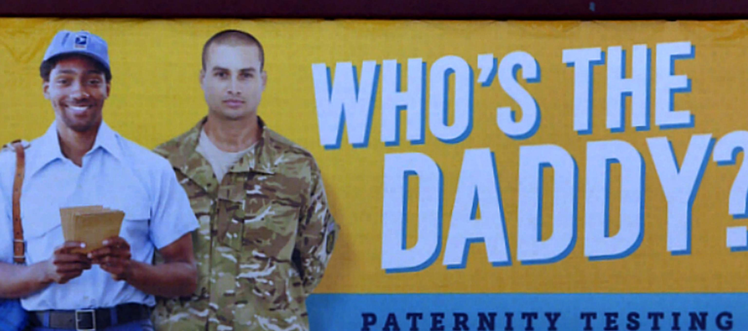 Does this military paternity billboard send the wrong message?