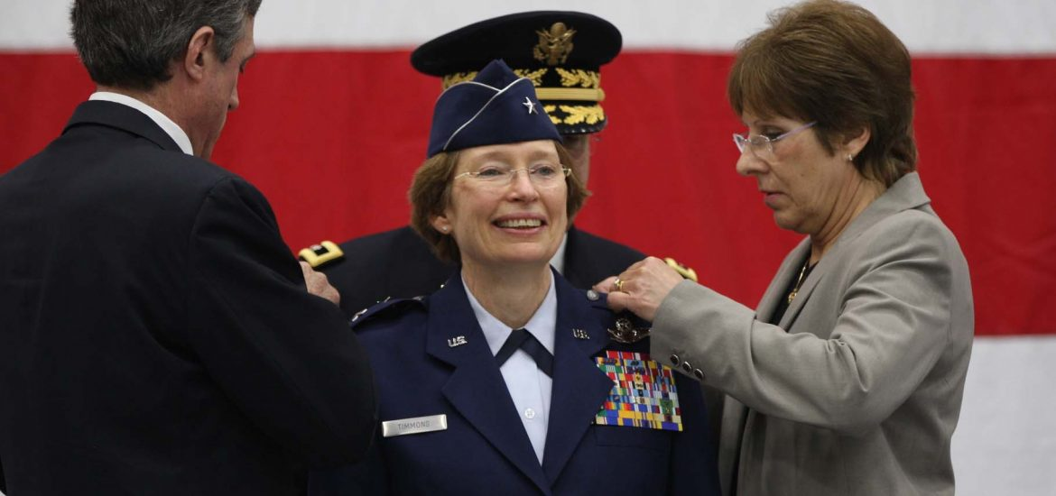 Duty calls for the first woman to command the Delaware National Guard