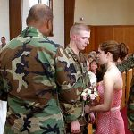 No, military spouses don't marry for TRICARE