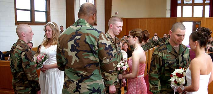 No, military wives don't marry for TRICARE