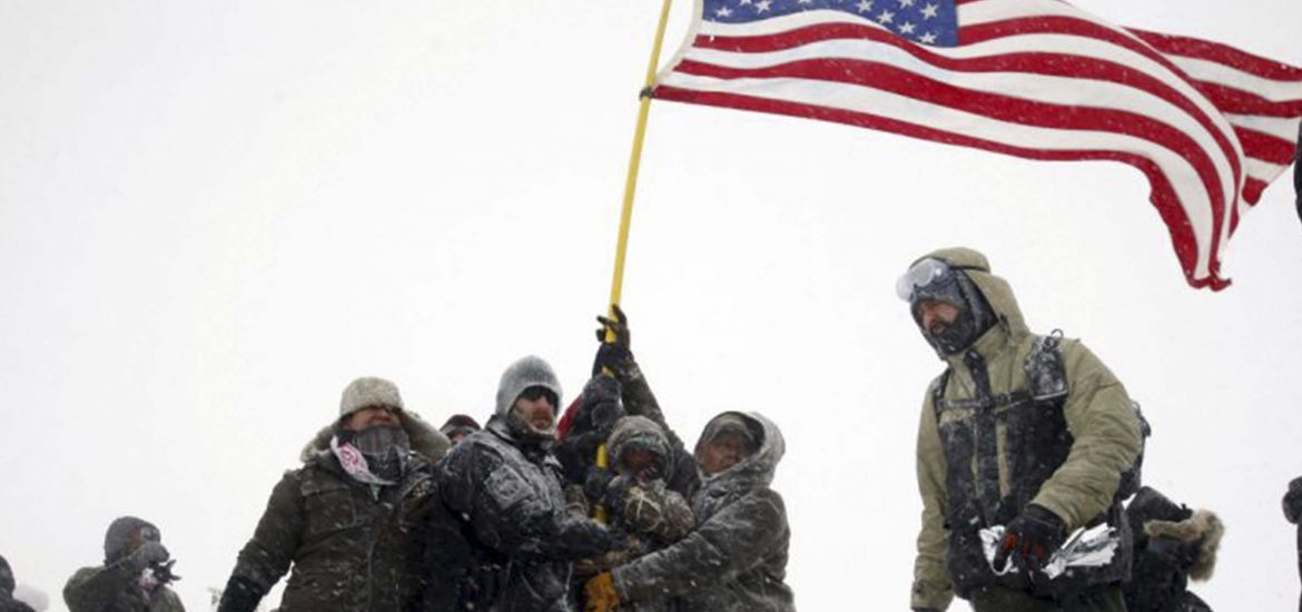 Veterans group launches fundraiser and promises protection for Standing Rock