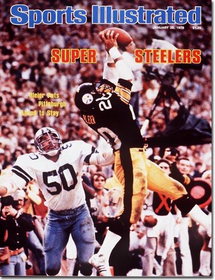 Rocky Bleier on the cover of Sports Illustrated following the Pittsburgh Steeler's Super Bowl win on January 29, 1979. (Photo: Walter Looss Jr., Sports Illustrated)