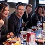 Facebook's founder just went to Ft. Bragg and met with milspouses