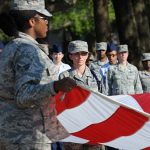 This is the history of women in the National Guard