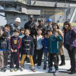 Sailors donate time and bikes to the Shunko Gakuen Orphanage in Yokosuka