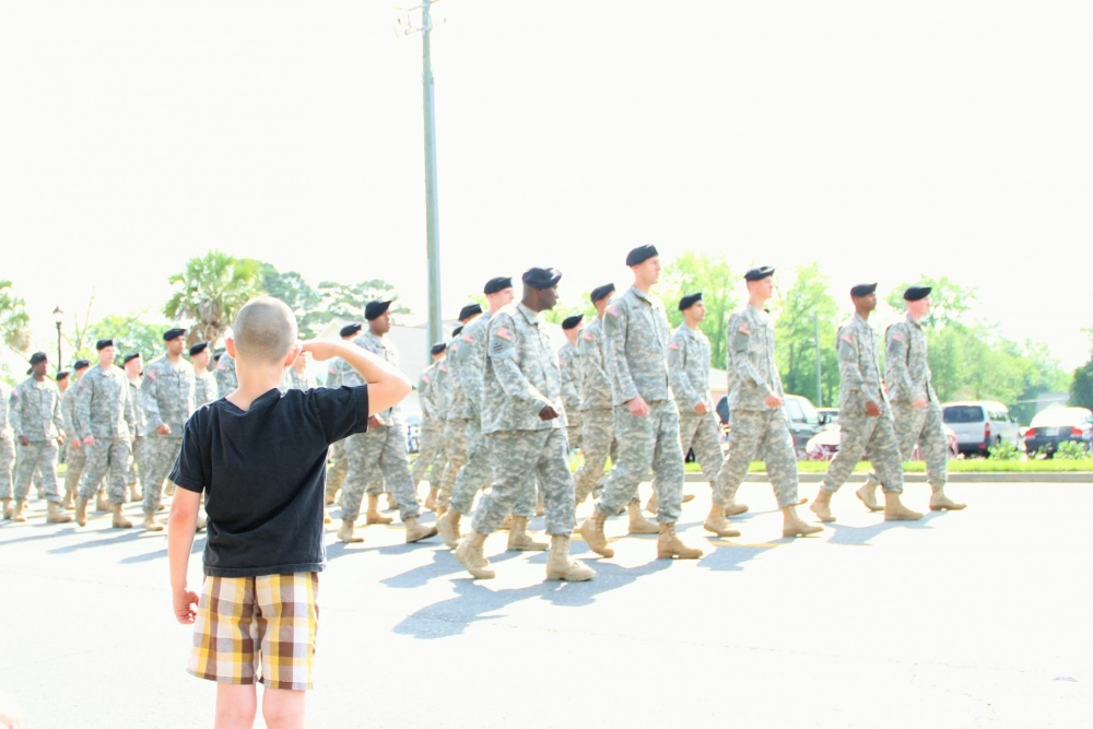 "Here's how to have ""the talk"" with your military kids. . . about rank"