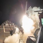 US launches cruise missile strike on Syria