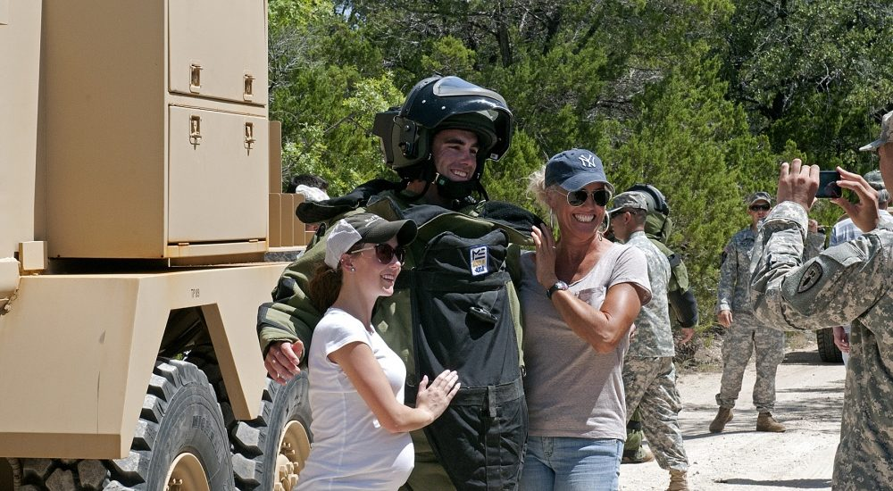 Here's what military spouses have in common with military moms