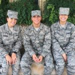 Algerian triplets join Air Force for better future