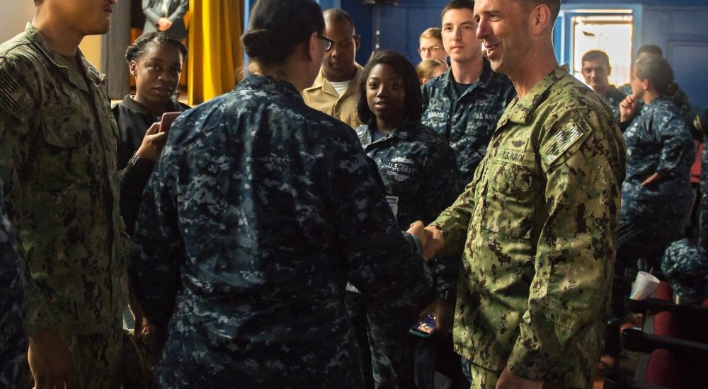 Navy tweaks uniform policy for women and releases it on Facebook