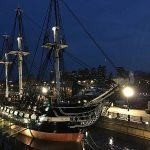 As restoration nears completion, Old Ironsides returns to Boston Harbor