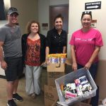 Operation Mil-Spouses Unite matches community donations with Harvey survivors