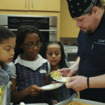 How to help kids with deployment? Cook!