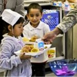 Military pay and free or reduced school meals