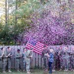Touching gender reveal held for spouse of sailor killed in crash