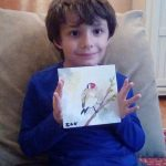 Meet the military kid who sends his art to former presidents