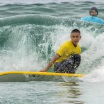 Injured Marine fulfills dream of learning to surf
