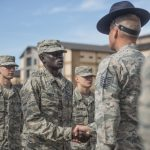 Former slave, two-time Olympian becomes an Airman