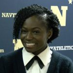 This midshipman gave up her Olympic chances to run for Navy