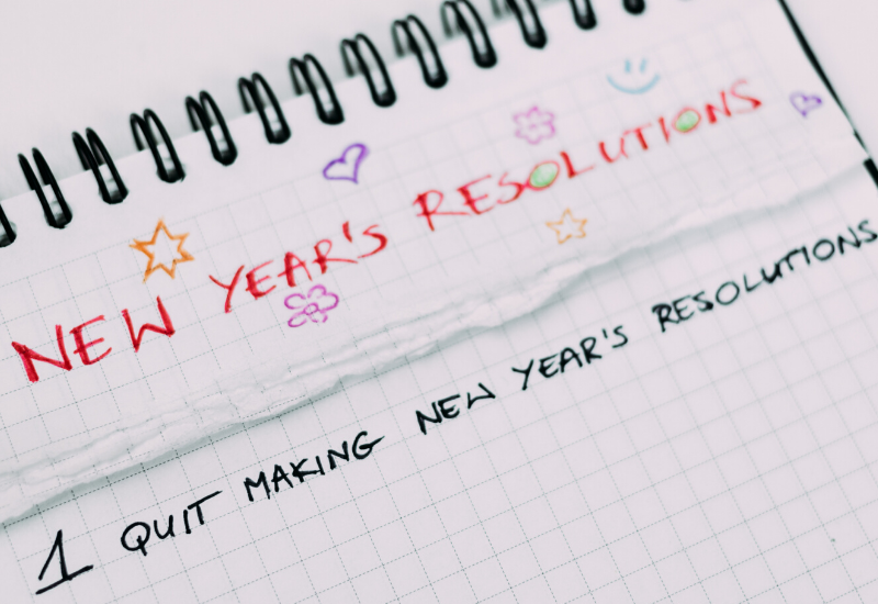 How Is Your New Year's Resolution Going?
