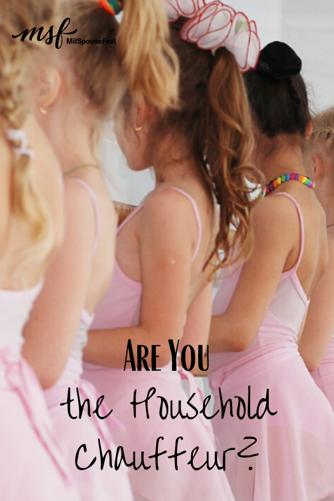 Are You the Household Chauffeur?